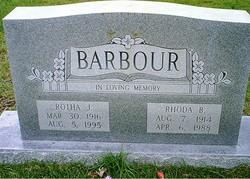 Rotha J. Barbour