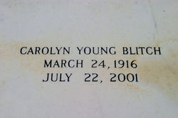 Carolyn <i>Young</i> Blitch