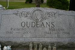Maryann <i>Johnston</i> Oudeans