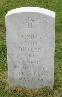 Spec Tommy Don Butler