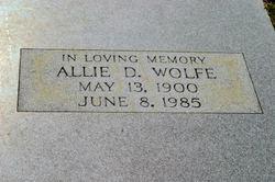 Allie Louvincie <i>Dubberly</i> Wolfe