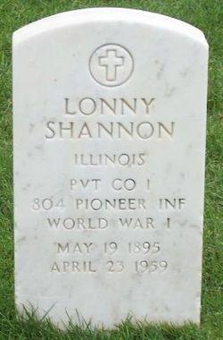 Pvt Lonny Shannon