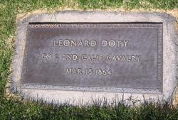 Pvt Leonard Doty