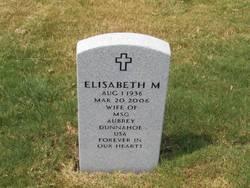 Elisabeth M Dunnahoe