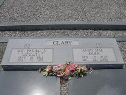Sgt Randal R Clary