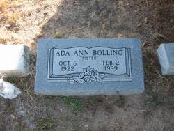 Ada Ann Bolling