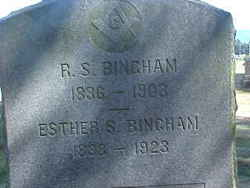 Esther Sophia <i>Brooks</i> Bingham