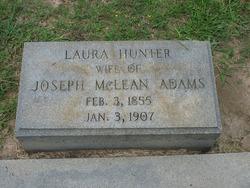 Laura <i>Hunter</i> Adams