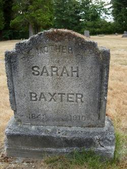Sarah <i>Robinson</i> Baxter