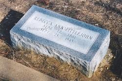 Rebecca Ann <i>Bowlin</i> Littlejohn