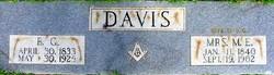 Mrs M. E. Davis