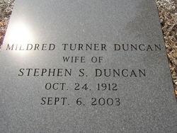 Mildred <i>Turner</i> Duncan