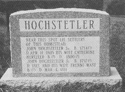 Catherine <i>Hertzler</i> Hochstetler