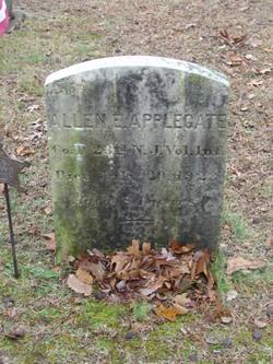 Pvt Allen E. Applegate