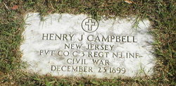 Pvt Henry J Campbell