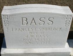 Frances E. <i>Spurlock</i> Bass