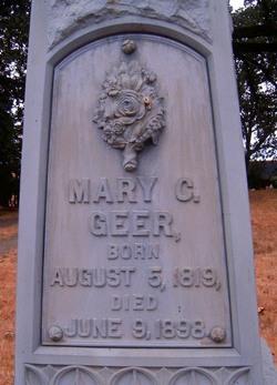 Mary Catherine <i>Willard</i> Geer