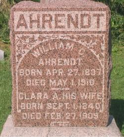 William C Ahrendt