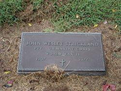 John Wesley Strickland