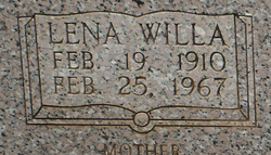 Lena Willa <i>Johns</i> Strickland