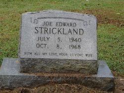 Joe Edward Strickland