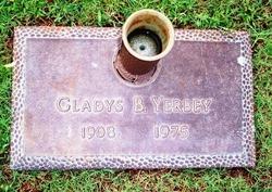 Gladys B Yerbey