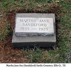 Martha Jane <i>Sea</i> Sandeford