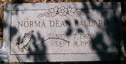 Norma Dean <i>Foster</i> Ballard