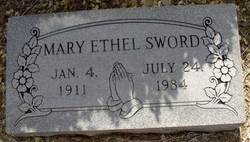 Mary Ethel <i>Roy</i> Sword