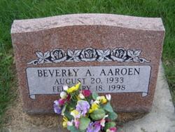 Beverly A. Aaroen