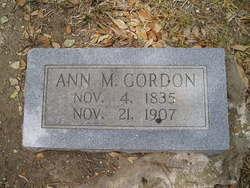 Ann Mary <i>Latamore</i> Gordon