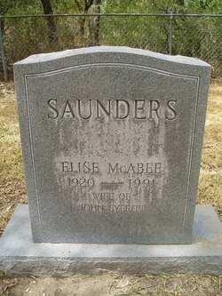 Elise <i>McAbee</i> Saunders