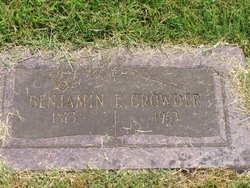 Benjamin Franklin Crowder