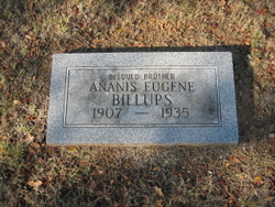 Ananis Eugene Billups