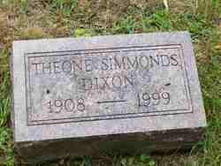 Theone <i>Simmonds</i> Dixon