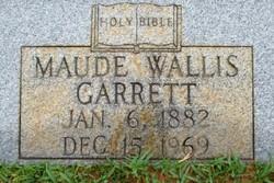 Maude <i>Wallis</i> Garrett
