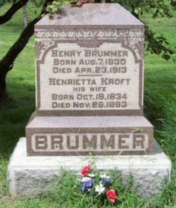Henrietta <i>Kroft</i> Brummer