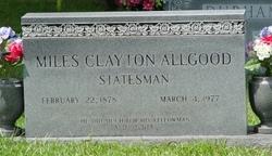 Miles Clayton Allgood