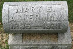 Mrs Mary S. <i>Coffin</i> Ackerman