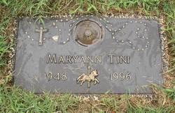 Maryann E <i>McCutcheon</i> Tini