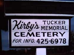 Kirbys Tucker Memorial Cemetery