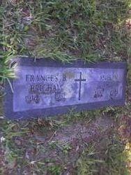Frances B. <i>Ward</i> Brigham