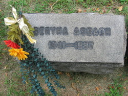 Bertha Gertrude <i>Brandt</i> Asbach