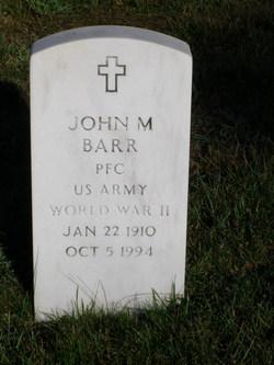 John M Barr