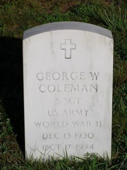 George W Coleman