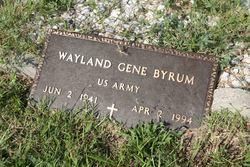 Wayland Gene Byrum