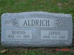 Jennie M <i>Brooks</i> Aldrich