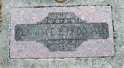 Clarence Erwin McDonald