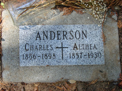 Althea <i>Burke</i> Anderson