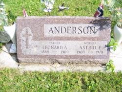 Astrid E Anderson